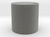 HO scale watertank (solid) 3d printed