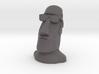 Moai Shades Head Statue 3d printed