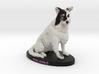 Custom Dog Figurine - Fielding 3d printed