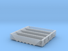 Six Bay Rapid Discharge Hopper - Set of 4 - Zscale 3d printed