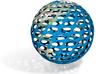 Giant World Globe Full Color 3d printed