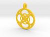 Chaldene pendant 3d printed