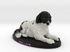Custom Dog Figurine - Wallace 3d printed