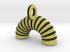 Agility Tunnel Pendant (Yellow Version) 3d printed