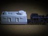 Turret, European #1  (n-scale) 3d printed Direct fire gun stowed for combat patrol