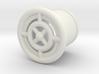 Crosshair earring 00g 3d printed