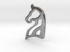 Arabian Horse Pendant 3d printed