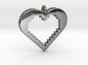 Pixel Heart 3d printed