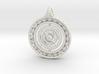 Gyroscope Mandala Pendant 3d printed