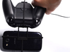 Xbox One controller & chat & Plum Sync 3.5 3d printed In hand - A Samsung Galaxy S3 and a black Xbox One controller & chat