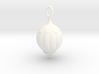 Christmas Tree Bauble pendant 3d printed