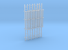 'N Scale' - (4) - 20' Caged Ladder 3d printed