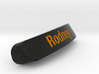 Rodney Nameplate for SteelSeries Rival 3d printed