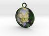 Beauty Flower Pendant  3d printed