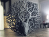 Tree deer stag wall decoration 3d printed