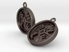 SWOLE Plate - Earrings 3d printed