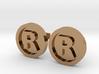 Registered Trademark Logo Cuff Links 3d printed