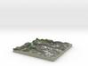 Terrafab generated model Mon Oct 06 2014 10:13:41  3d printed
