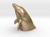Peeking Dolphin S (Head) 3d printed