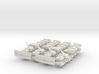 """""""Team Sabre"""" 3mm Tracked Armor Task Force (56 Pcs) 3d printed"""