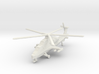 1/300 Chinese WZ-10 Attack Helicopter 3d printed