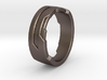 Ring Size J 3d printed