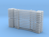Flat Axe Set dozen each(1/24 scale) 3d printed