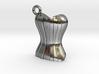 Corset Steampunk Charm/Pendant 3d printed