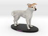 Custom Dog Figurine - Domino 3d printed