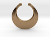Faux Septum Ring - Crescent (small) 3d printed