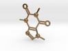 Cafeine molecule Pendant 3d printed