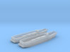 1/700 LCU1610 - Landing Craft Utility (x2) 3d printed