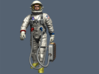 Gemini Astronaut / 1:6 / Walking Version 3d printed Painting Instruction
