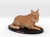 Custom Cat Figurine - Cesar 3d printed