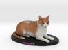 Custom Cat Figurine - Nugget 3d printed
