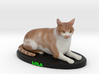 Custom Cat Figurine - Lola 3d printed
