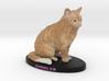 Custom Cat Figurine - Gobbler 3d printed