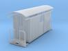 Sn2 medium short round roof Baggage car 3d printed