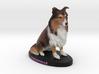 Custom Dog Figurine - Christmas 3d printed