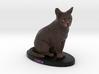 Custom Cat Figurine - Luca 3d printed