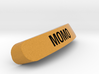 MOMO Nameplate for SteelSeries Rival 3d printed