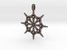 SPHERICAL FOCUS Designer Jewelry Pendant  3d printed