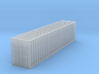 N Scale 40 FT Shipping Container 3d printed