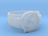 Flash Ring size 11 20.68mm  3d printed