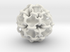 Hollow piped sphere with loops #3 3d printed