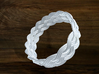 Turk's Head Knot Ring 5 Part X 16 Bight - Size 26. 3d printed