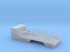 1/87th Scale Tire Service Truck tandem axle Body 3d printed