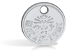 ZWOOKY Style 89 Sample - keychain head 3d printed