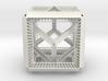 Cube hypercube geometry  3d printed