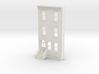 S SCALE ROW HOME FRONT 3S  3d printed